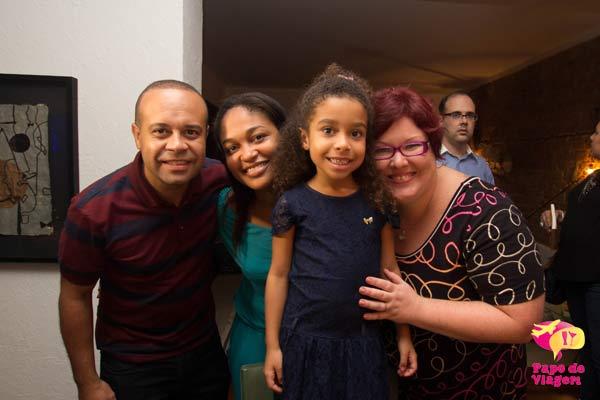 Luciano, Érica e Lívia, amigos viajantes. Imagem: Erik Pzado