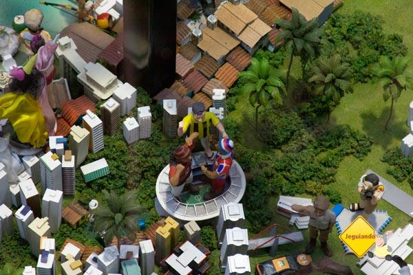 Maquete da Bahia. II Salão Baiano de Turismo. Salvador, Bahia. Imagem: Erik Pzado