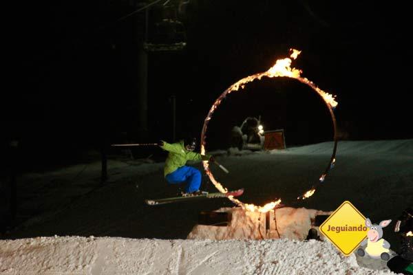 Fire & Ice Show. Whistler, BC, Canadá. Imagem: Erik Pzado
