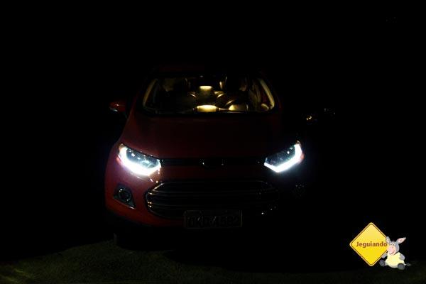 Verifique se os faróis estão funcionando perfeitamente para viajar à noite. Imagem: Erik Pzado