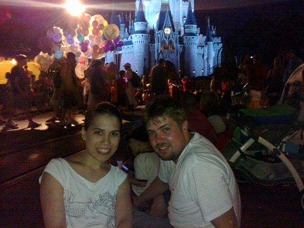 Renata e Bruno Conti viajaram para a Disney, em Orlando/EUA, para passar um tempinho juntos