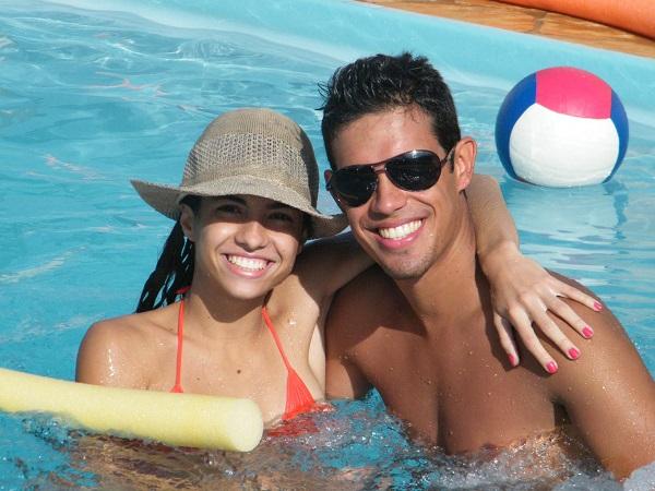 Nathalia e seu namorado Renato Siviero Vicentini viajaram até o Paraná para curtir um tempo juntos e aproveitar dias ensolarados!
