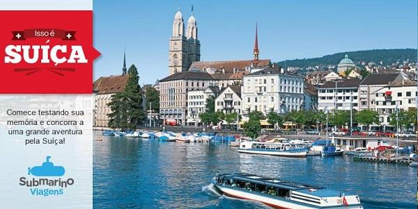 Isso é Suíça - Submarino Viagens leva participantes de concurso cultural para a Suíça