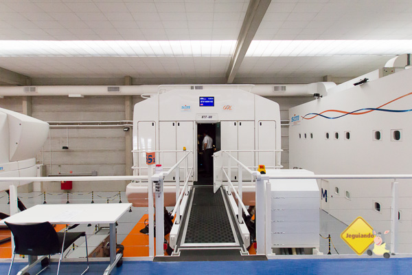 Embarque no simulador de voo - Imagem: Erik Pzado
