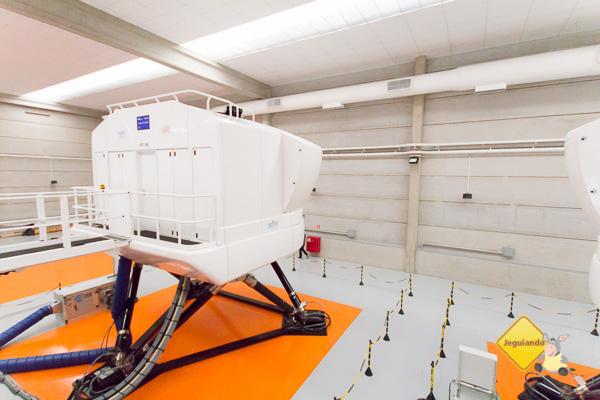 Simulador de voo em tamanho real - Imagem: Erik Pzado