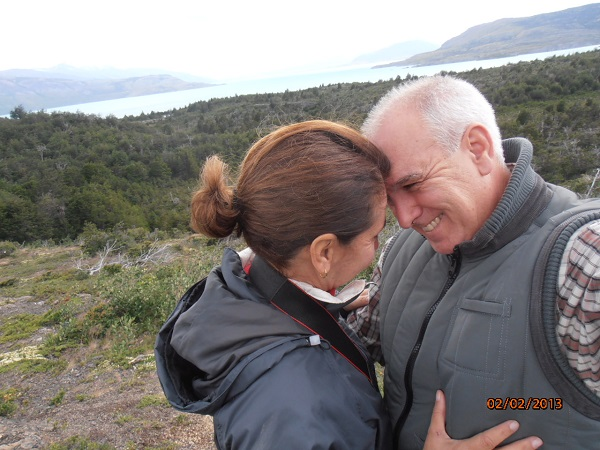 Quenia e Reginaldo, do blog Viagens por aí.