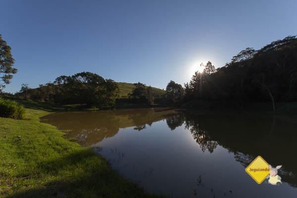 Pôr do sol no Hotel Fazenda São Francisco. Cunha, SP. Imagem: Erik Pzado