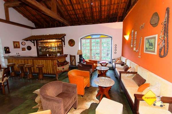 Bar. Hotel Fazenda São Francisco onde ficamos hospedados. Cunha, SP. Imagem: Erik Pzado