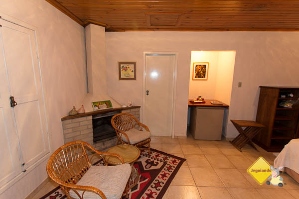 Acomodação do Hotel Fazenda São Francisco onde ficamos hospedados. Cunha, SP. Imagem: Erik Pzado
