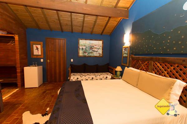 Chalé azul. Celeiro do Gutto. Cunha, SP. Imagem: Erik Pzado