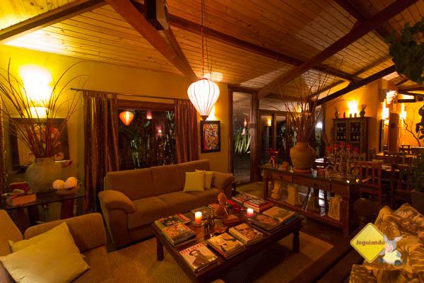 Living room. Celeiro do Gutto. Cunha, SP. Imagem: Erik Pzado