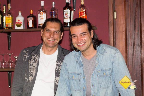 Gutto e Fabrício, proprietários do Celeiro do Gutto. Imagem: Erik Pzado