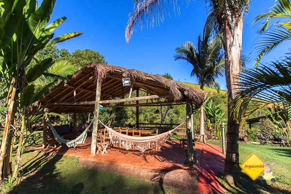 Redário. Pousada e Restaurante Dona Felicidade. Cunha, SP. Imagem: Erik Pzado