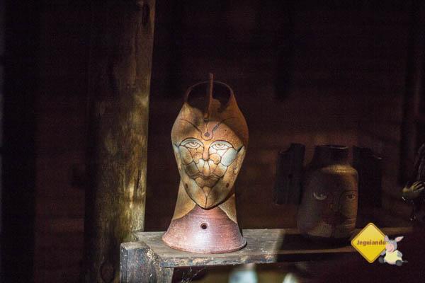 Peça de Alberto Cidraes, um dos pioneiros do movimento ceramista de Cunha. Imagem: Erik Pzado