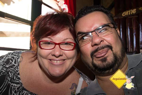 Jana e Erik no Caipira. Imagem: Erik Pzado