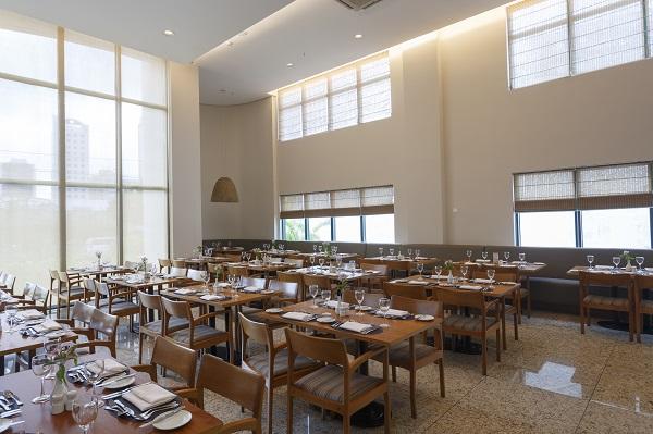 Restaurante Amaranto. Imagem: Divulgação