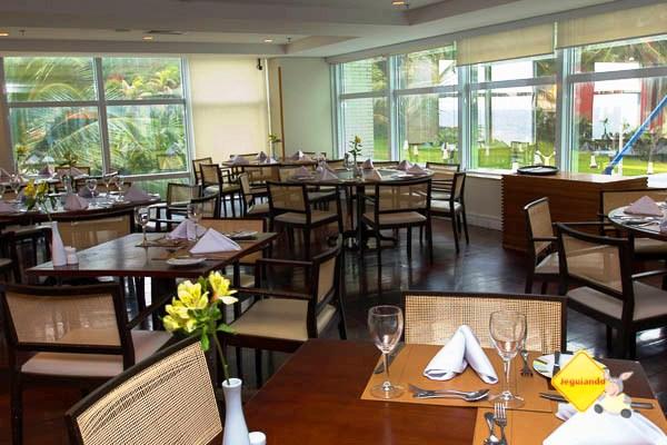 Restaurante Casarão: Gastronomia com toques regionais. Mercure Salvador Rio Vermelho. Salvador, Bahia. Imagem: Janaína Calaça