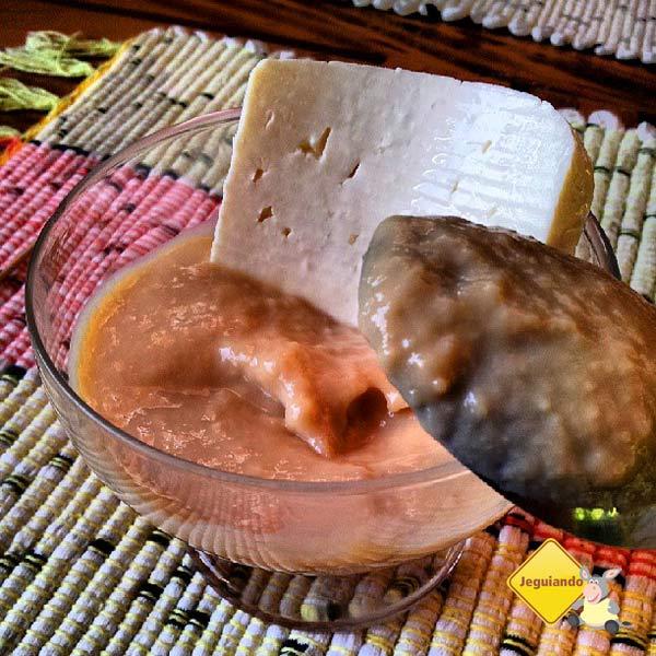 Doce de leite e queijo coalho. Restaurante Dona Felicidade. Cunha,SP. Imagem: Janaína Calaça