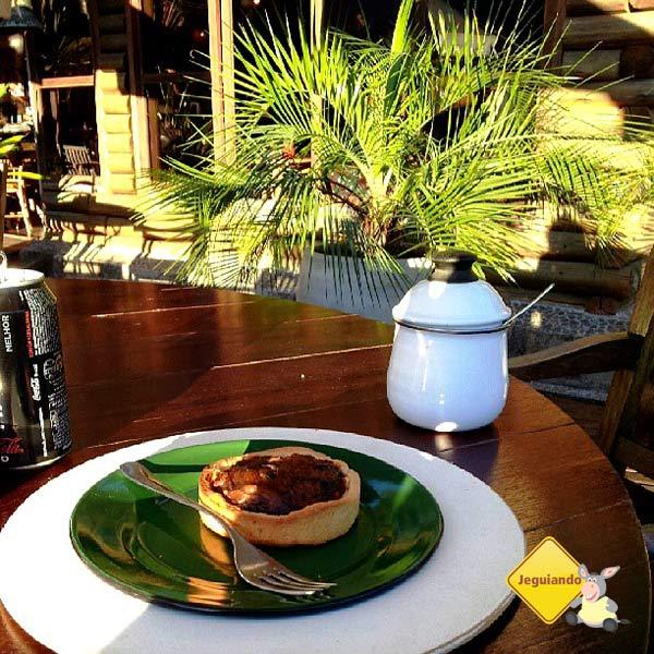 Tortinha de Shitake. Cunha, SP. Imagem: Janaína Calaça