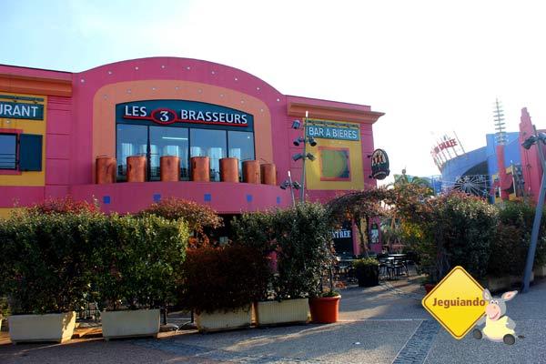 Odysseum, centro lúdico e de compras de Montpellier, França. Imagem: Janaína Calaça