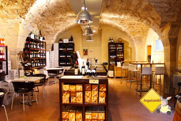 Visita à adega do Château de Flaugergues. Montpellier, França. Imagem: Janaína Calaça
