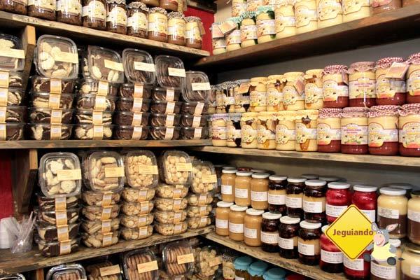 Biscoitinhos, compotas  e doces também fazem parte do turismo de compras. Imagem: Erik Pzado