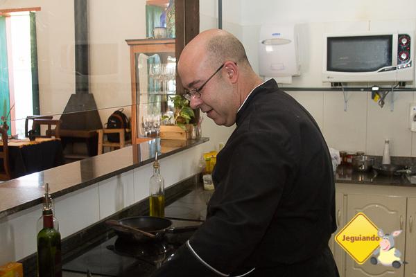 Chef João Carlos, alfacinha da gema. Imagem: Erik Pzado