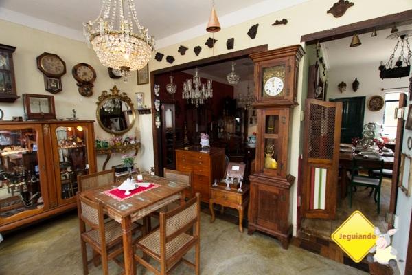 O antiquário. Casa do Sino. Tiradentes, MG. Imagem: Erik Pzado