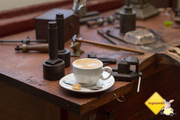 Café expresso gourmet. Casa do Sino. Tiradentes, MG. Imagem: Erik Pzado