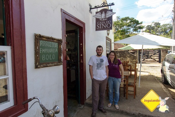 Paulo e Ana, proprietários da Casa do Sino. Imagem: Erik Pzado