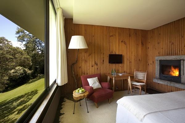 Habitação Doble Matrimonial. Hotel Antumalal, Pucón, Chile. Imagem: Divulgação