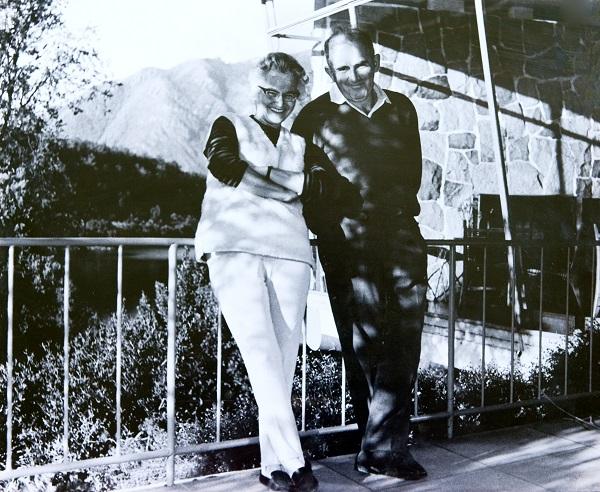 Catalina e Guillermo Pollak, idealizadores do Antumalal. Imagem: Arquivo pessoal da família Pollak