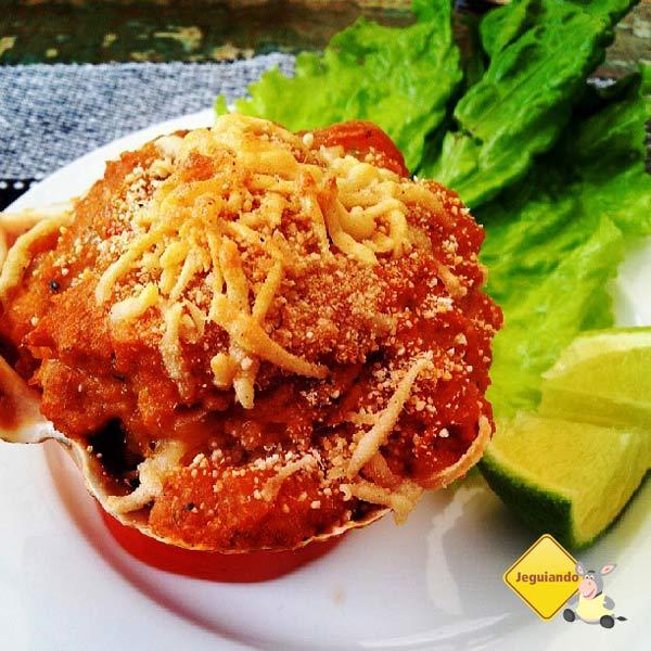 Casquinha de camarão. Aldeia Bar Tiradentes. Gastronomia Thaipira em Tiradentes, MG. Imagem: Janaína Calaça