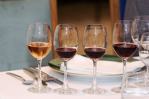 Degustação de vinhos da região da Provence. Imagem: Erik Araújo