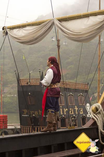 Ahoy Mattey, piratas a bordo. Imagem: Erik Araújo