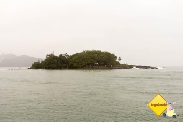 Ilha das Cabras em Balneário Camboriú. Imagem: Erik Araújo