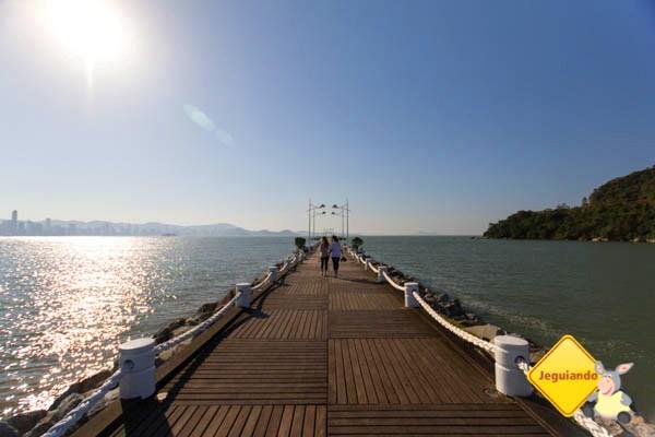 Molhe da Barra Sul, Balneário Camboriú. Imagem: Erik Araújo