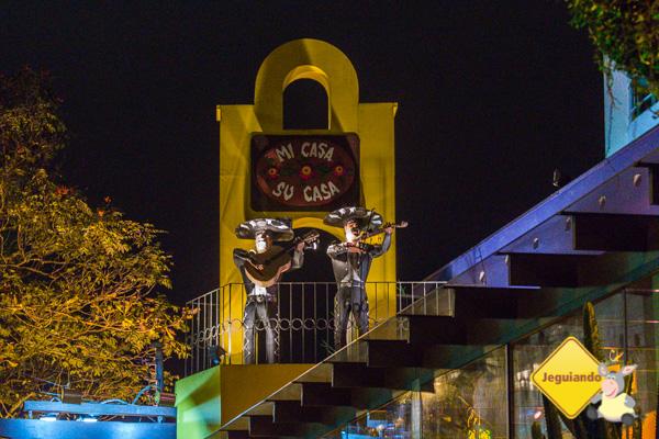 Mariachis, o símbolo da casa. Imagem: Erik Araújo