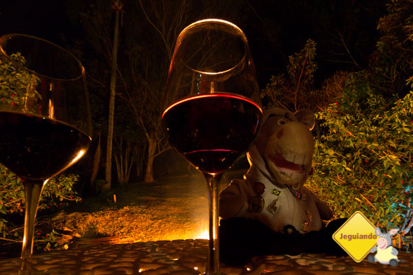 Noite na Pousada Sapucaia. Imagem: Erik Araújo