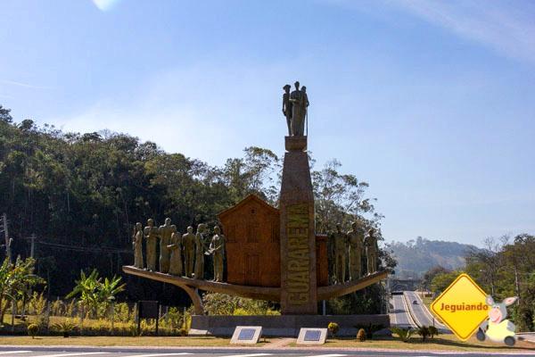 Portal de Guararema. Guararema, São Paulo. Imagem: Erik Araújo