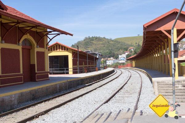 Estação Ferroviária de Guararema. Guararema, São Paulo. Imagem: Erik Araújo