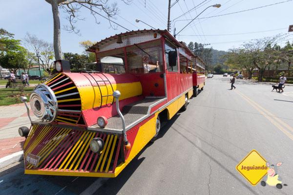 Trenzinho turístico de Guararema. Imagem: Erik Araújo