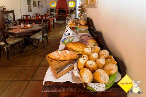 Café da manhã na Pousada Sapucaia. Imagem: Erik Araújo