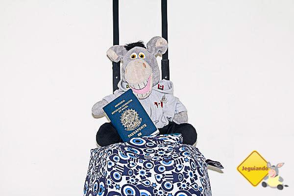 Jegueton já está com passaporte e visto prontos para o Canadá. Imagem: Erik Araújo