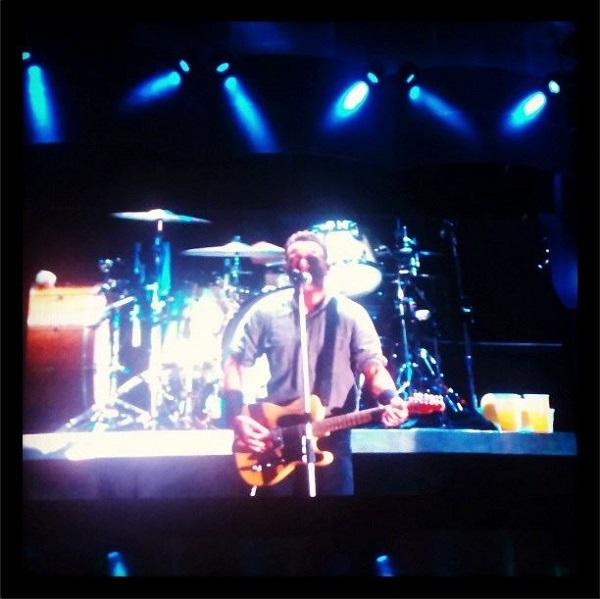 Bruce Springsteen no Rock in Rio 2013. Imagem: Marcelo Santos