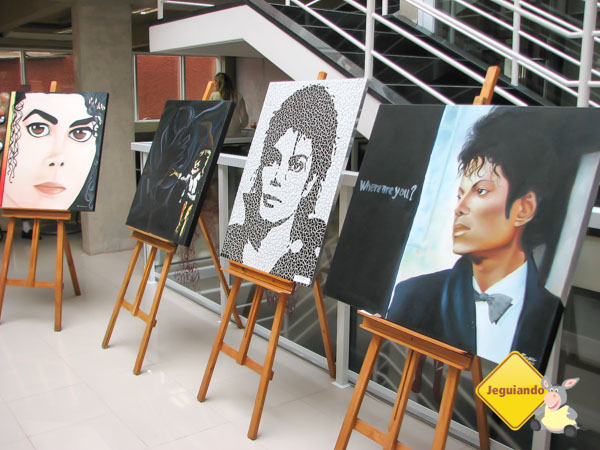 Exposição na Estação Literária. Guararema, São Paulo. Imagem: Janaína Calaça