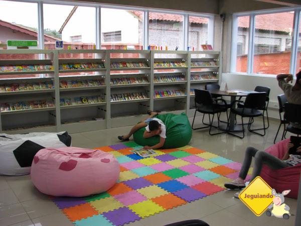 Espaços e atividades para todas as idades. Estação Literária. Guararema, São Paulo. Imagem: Janaína Calaça