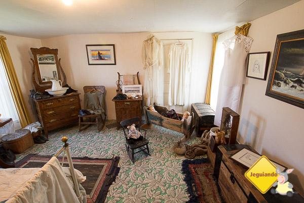 Antiga casa da família de Fraser foi transformada em um verdadeiro memorial dedicado a Peggy of the Cove. Imagem: Erik Araújo