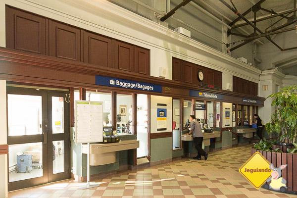 Estação de trem da Via Rail em Halifax. Imagem: Erik Araújo