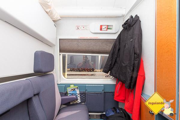 Cabine for 2, onde viajamos de Halifax para Montréal. Imagem: Erik Araújo